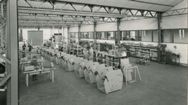 Internal view of the plant: Headop assembly line.